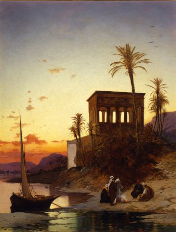 Campfire by the River: The Kiosk of Trajan at Philae